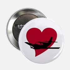 Heart Airplane Image Button