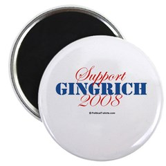 Support Gingrich Magnet