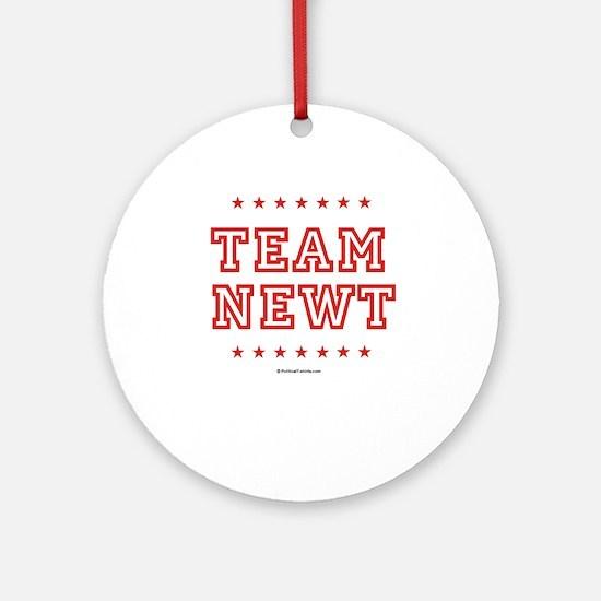 Team Newt Ornament (Round)
