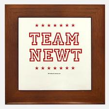 Team Newt Framed Tile