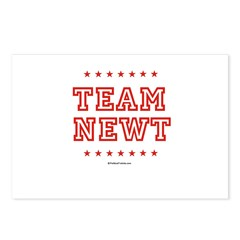 Team Newt Postcards (Package of 8)