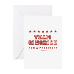 Team Gingrich Greeting Cards (Pk of 10)