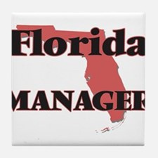 Florida Manager Tile Coaster