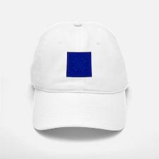 Blue Flower Baseball Baseball Cap