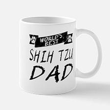 Worlds Best Shih Tzu Dad Mugs