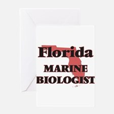 Florida Marine Biologist Greeting Cards