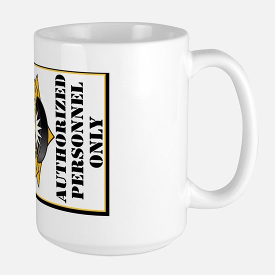 SCS Authorized Personnel Large Mug