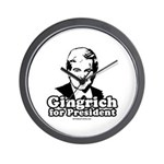 Gingrich for President Wall Clock