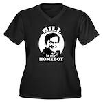 Bill Richardson is my homeboy Women's Plus Size V-
