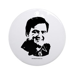 Bill Richardson Face Ornament (Round)
