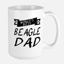 Worlds Best Beagle Dad Mugs