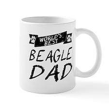 Worlds Best Beagle Dad Mugs