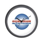 Richardson for President Wall Clock