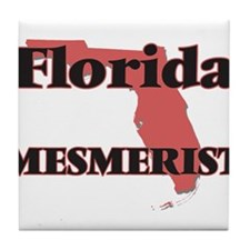 Florida Mesmerist Tile Coaster