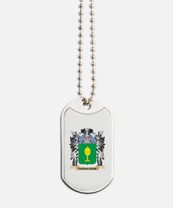 Schneider Coat of Arms - Family Crest Dog Tags