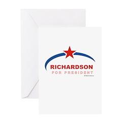 Richardson for President Greeting Card