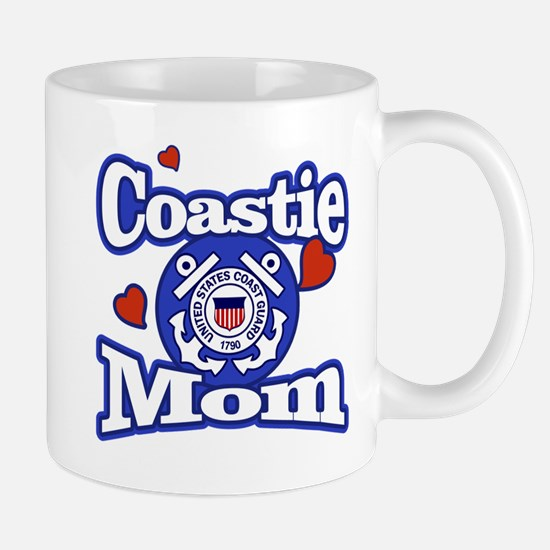 Coastie Mom Mugs