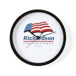 Richardson for President Wall Clock