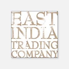 "Cute East india trading company Square Sticker 3"" x 3"""