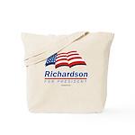 Richardson for President Tote Bag