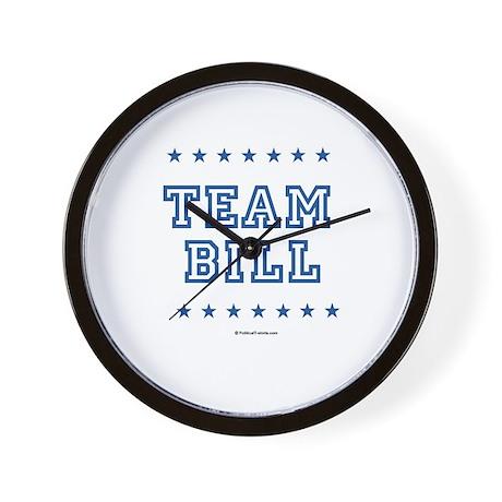 Team Bill Wall Clock