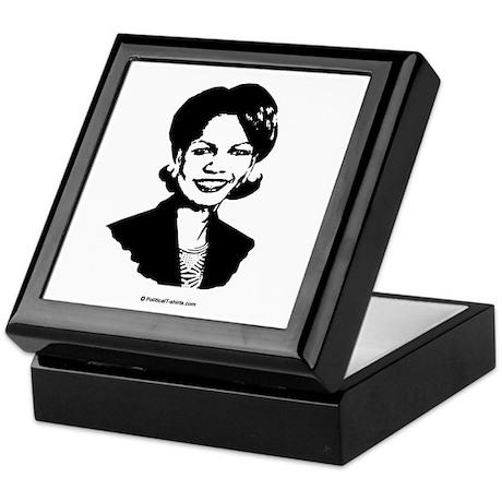 Condi Rice Face Keepsake Box