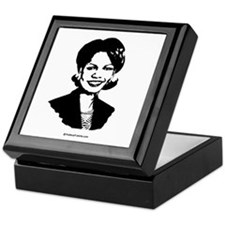 Condi Rice Face Keepsake Box