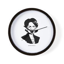 Condi Rice Face Wall Clock