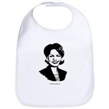Condi Rice Face Bib