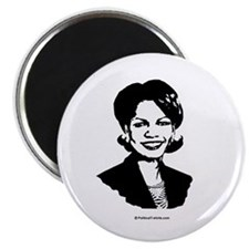 """Condi Rice Face 2.25"""" Magnet (100 pack)"""