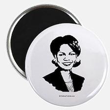 Condi Rice Face Magnet