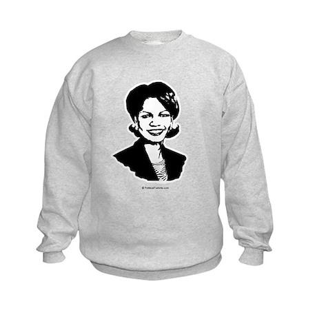 Condi Rice Face Kids Sweatshirt