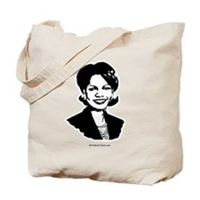 Condi Rice Face Tote Bag