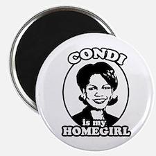 "Condi is my homegirl 2.25"" Magnet (100 pack)"