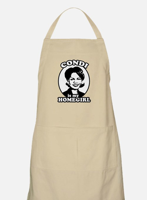 Condi is my homegirl BBQ Apron