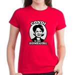 Condi is my homegirl Women's Dark T-Shirt