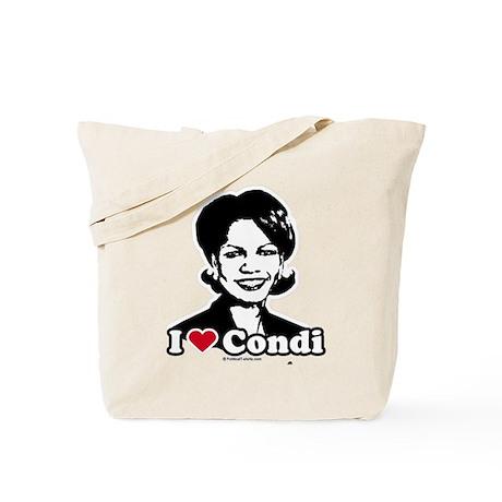 I Love Condi Tote Bag