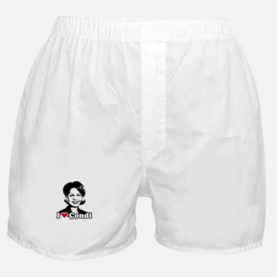 I Love Condi Boxer Shorts