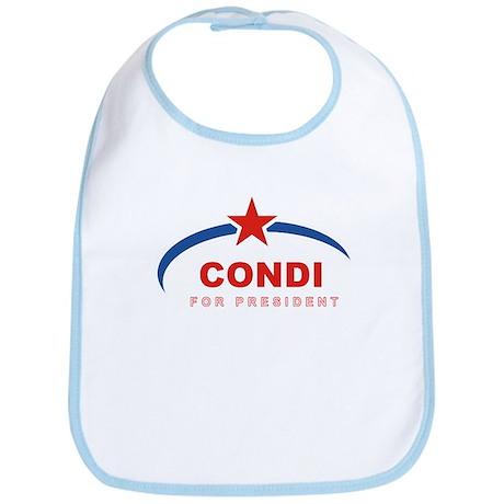 Condi for President Bib