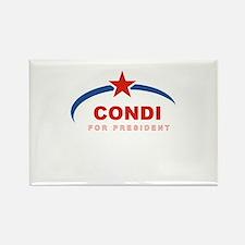Condi for President Rectangle Magnet