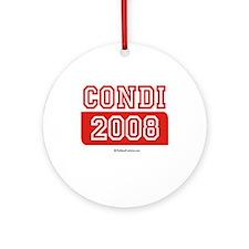 Condi 2008 Ornament (Round)