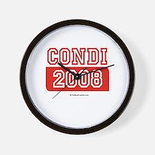 Condi 2008 Wall Clock