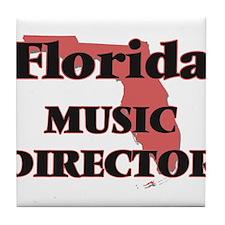 Florida Music Director Tile Coaster