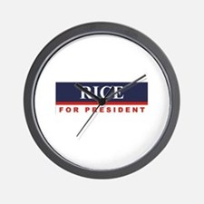 Condoleezza Rice for President Wall Clock