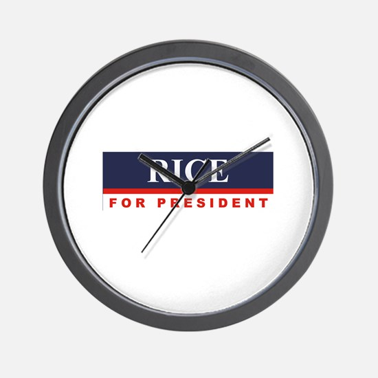 Condoleezza Rice for President Wall Clock