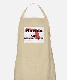 Florida Navy Forces Officer Apron