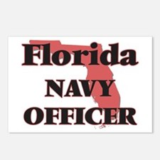 Florida Navy Officer Postcards (Package of 8)