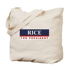 Condoleezza Rice for President Tote Bag