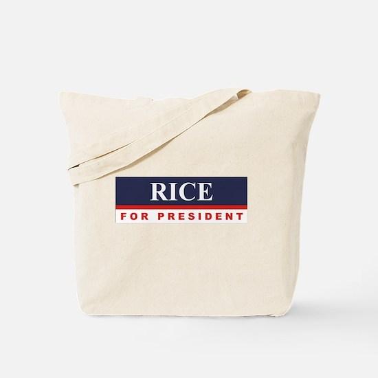 Condoleezza Rice for President Tote Bag