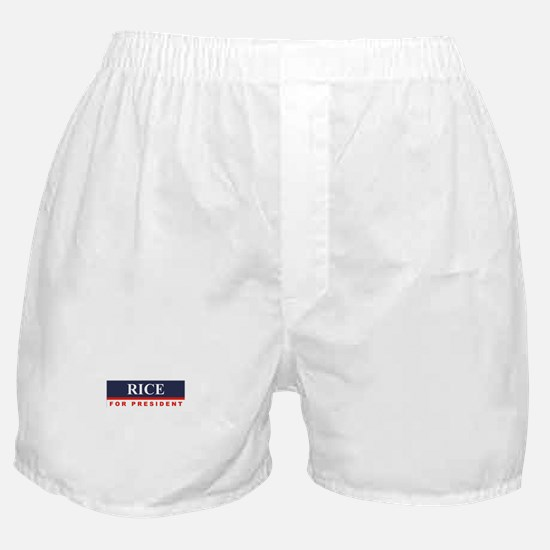 Condoleezza Rice for President Boxer Shorts